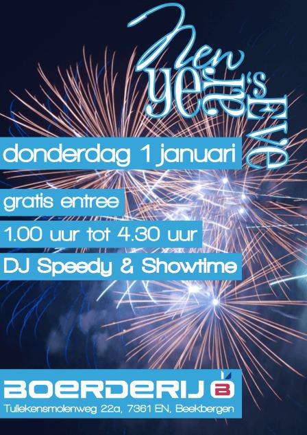 New Year Boerderij Beekbergen Dj Speedy
