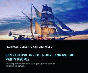 Festival zeilen met DJ Con Nalez op in juli 2021